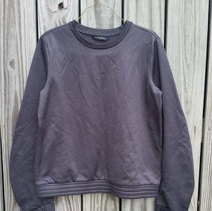Banana Republic Sweatshirt Black Sample Top